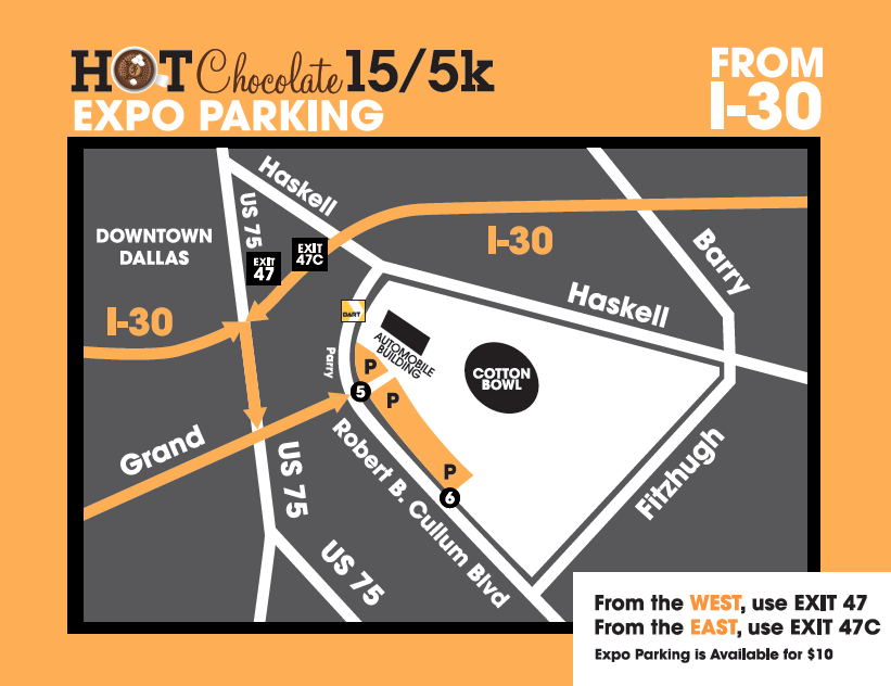 Fair Park Expo Map